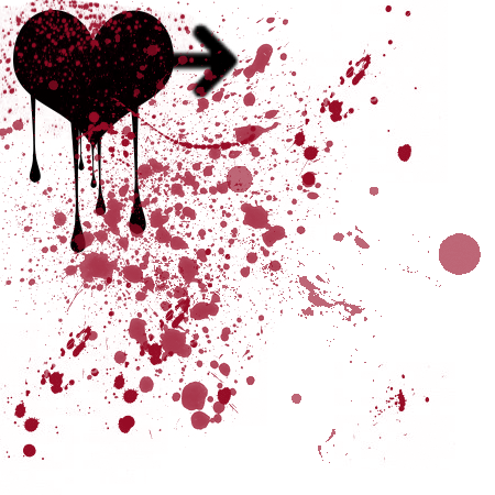 love-hurts-blood-stains love Is Hurt