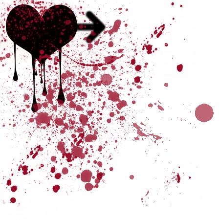 I Love U Wallpaper Blood : love-hurts-blood-stains love Is Hurt